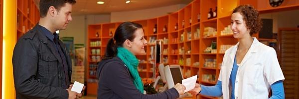 Pharmacy customer service