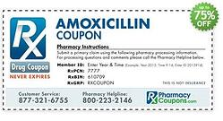 Amoxicillin Discount Card